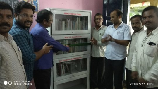 Inauguration of Library