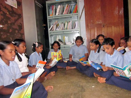 Libraries for Poor Children in India