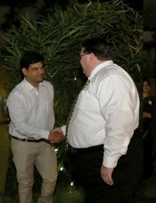 Dinner reception - US Consulate (Hyderabad)