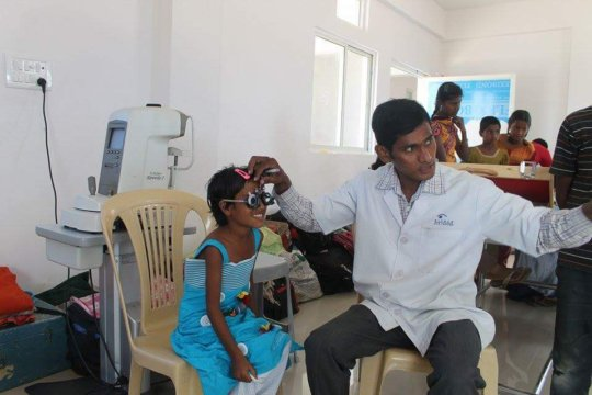 Health camp for Girls