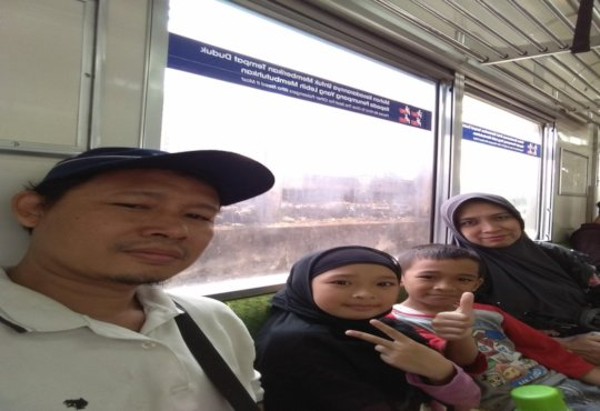 My Family and I traveled with train