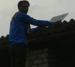 Installation of Solar System at House of Rameshwer