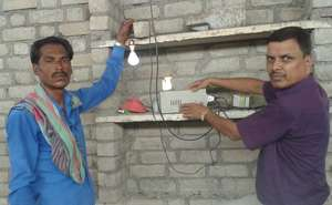 Lighting in the life of Rameshwer