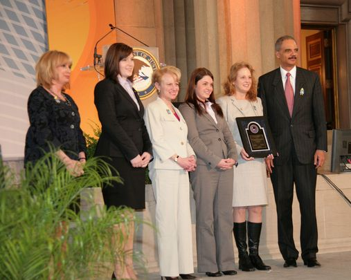 Award ceremony in Washington DC