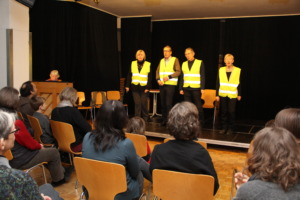 cabaret at thank-you event for volunteers