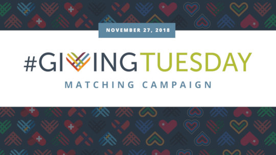 #GivingTuesday is next week