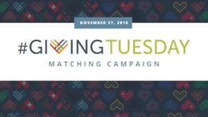 #GivingTuesday is next week