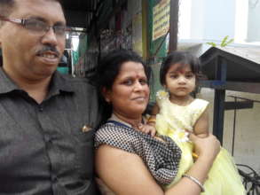 Ajay & Priti celebrate Kavita's 1st birthday