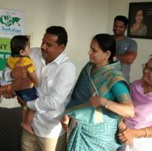 The official hand over of Sonu