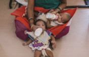 Safe care and adoption for 80 Indian Babies