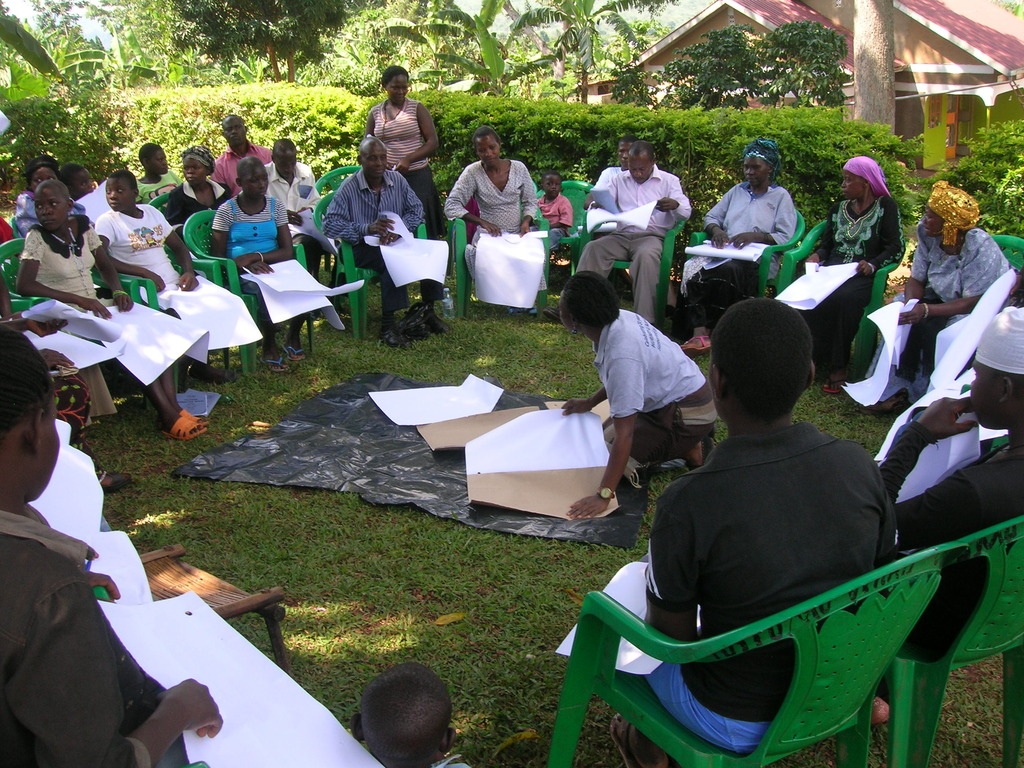 Community members that attended training