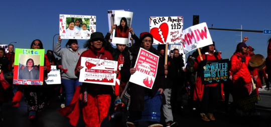 Missing and Indigenous Women's March