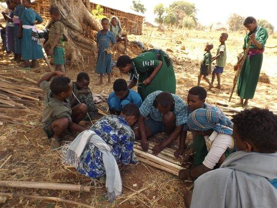 Practical training underway in Derbanta