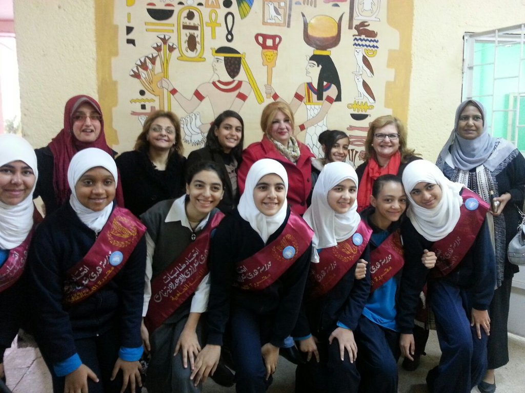 Train  Egyptian students on anti sexual abuse