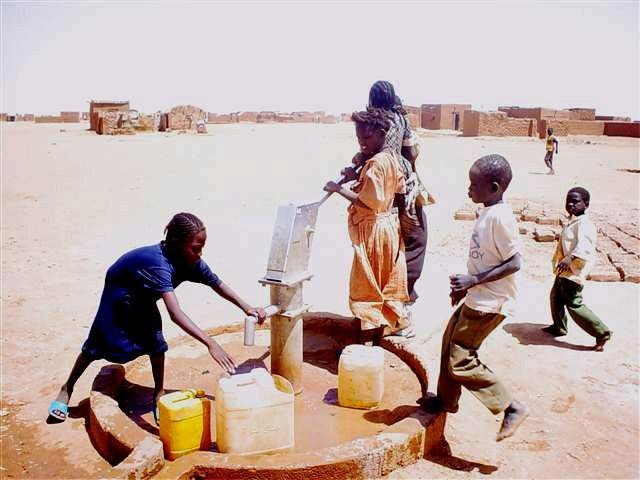 Clean Water For Sudanese War Refugees
