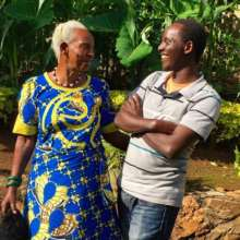 Accelerate Fellow, Arnold with his Grandmother