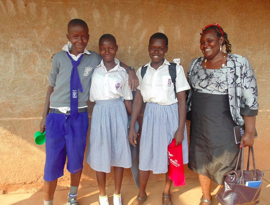 Quality Education and health for girls in Uganda