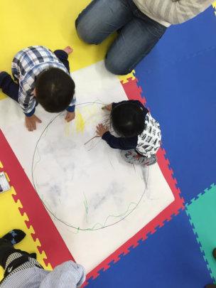 Art activity in Ishinomaki (Mothers and Children)