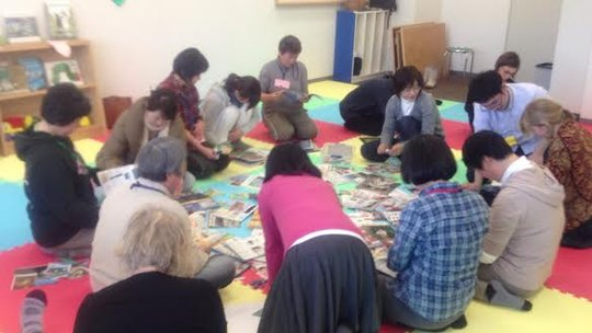 Workshop in Ishinomaki Senshu University, March