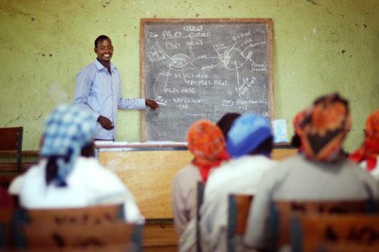 Teacher Training in Ethiopia