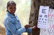 Training Teachers to Train Children in Eye Health