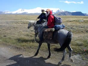 Our International Group on the Ukok Plateau, 2011