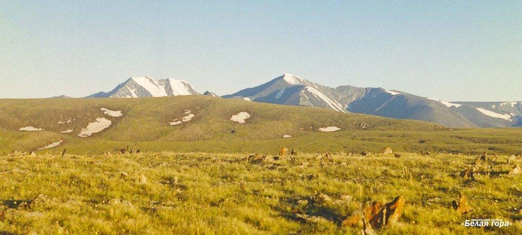 """threatened Ukok Plateau -- """"pastures of heaven"""""""