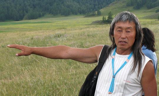 Altai elder Danil Mamyev
