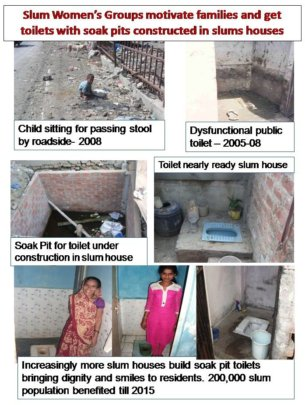 Families Build Toilets In Slum Houses For Dignity