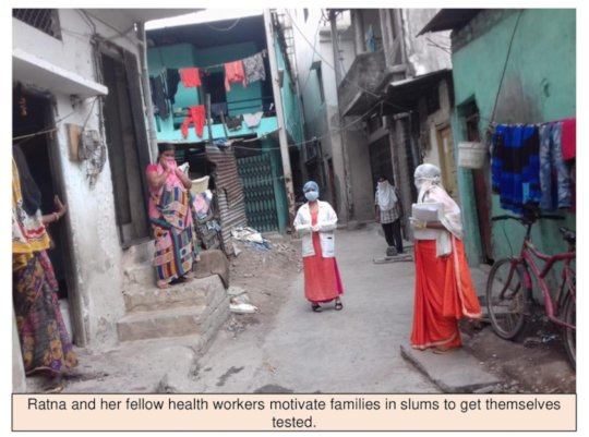 Ratna motivating families to get themselves tested