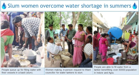 Women's action pave way for water access in slums