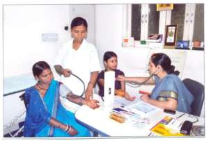 Health Checkup of Rural Women at Merrygold Network