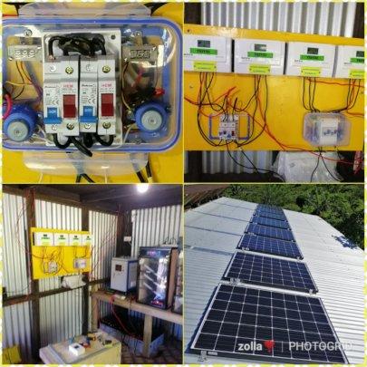 Solar to the hatchery!
