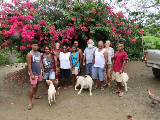 The Happy Chicken PNG Team and Fiji hosts Oct 2019