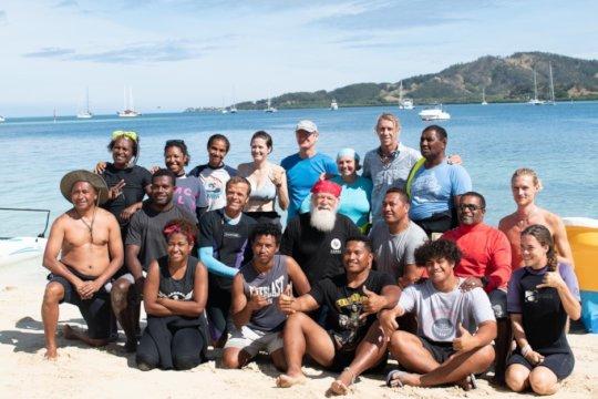 PNG Group as the Coral Restoration Workshop