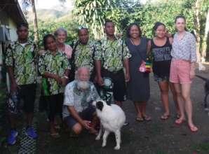 Workshop participants with C4C staff