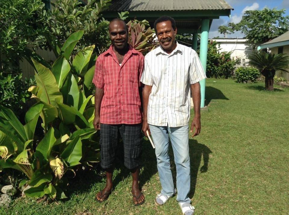 Joel and Iopil, our Vanuatu Trainees