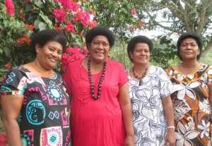 Moala women's group members