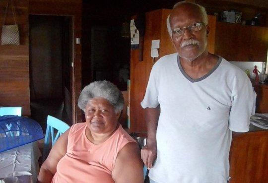 Seriana and Philipe from Navua