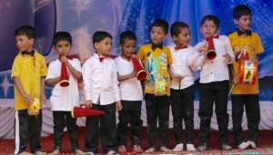 Performers at the Annual Day