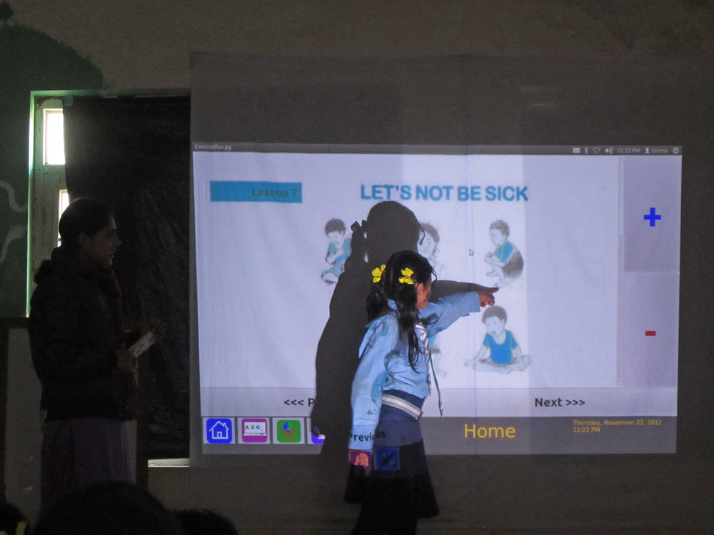 Looma ~ interactive A/V education for any school