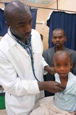 ECP evaluates young patient in ED