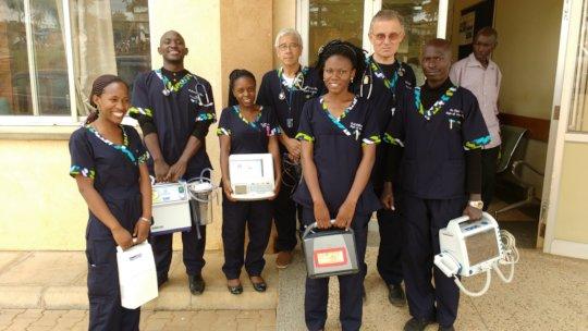 Master of Medicine Students at Mbarara
