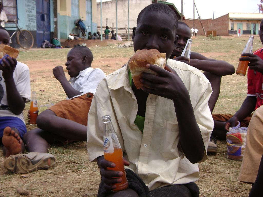 Your donation is Feeding children