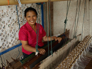 Mai would like to work with SEDA to expand her weaving business