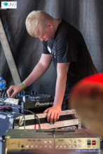 One of our young DJ's, first time on a big stage!