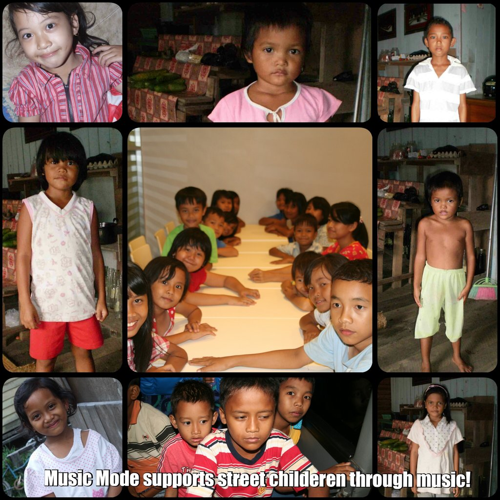 Disadvantaged youth supports street children!