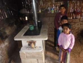 Kids near the Chapina stove no longer risk burns