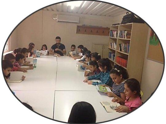 TEGV Siirt Kurtalan Learning Unit Library Space