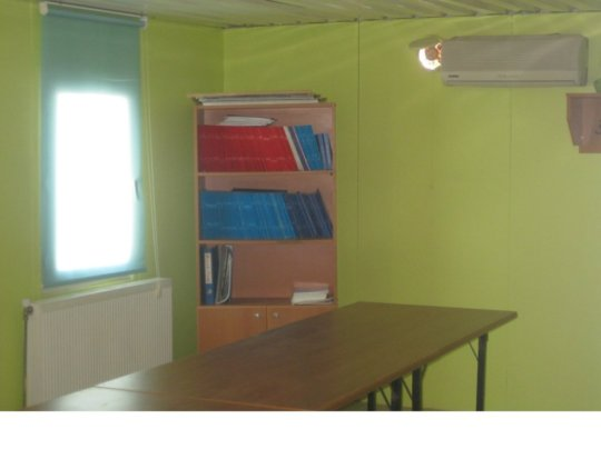 The library before renovations